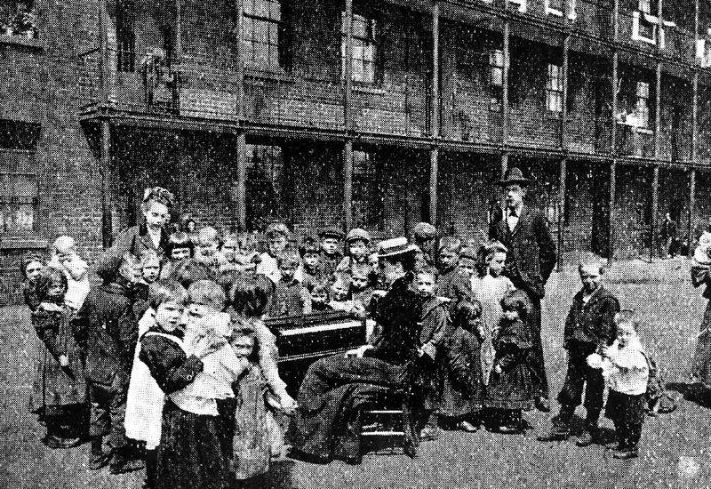Children's Service, Jersey Dwellings, Ancoats