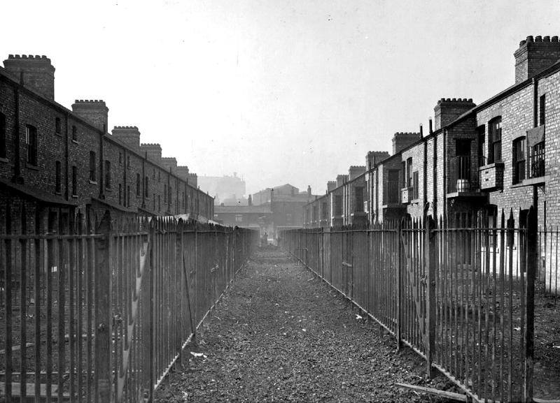 Backs of Tenements, Oldham Road