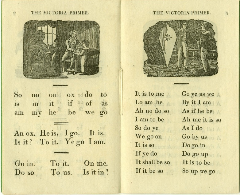 The Victoria Primer, or First Book for Children