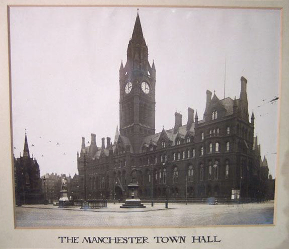 The Manchester Town Hall