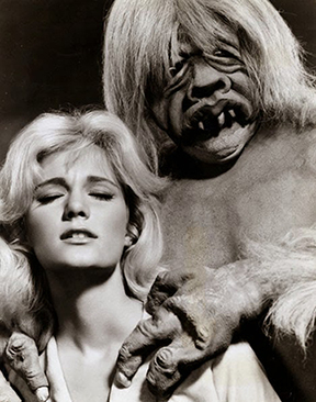Eloi and Morlock from The Time Machine