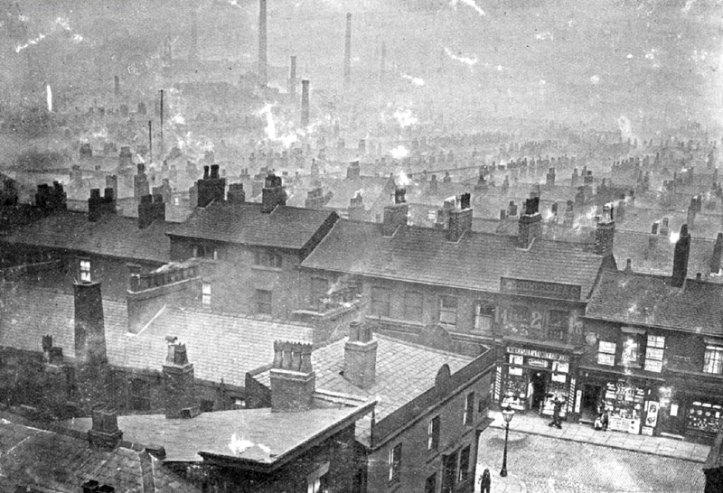 Ancoats - General View from Victoria Hall Roof
